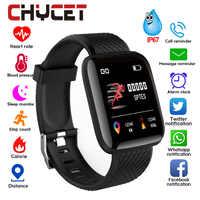 Smart Armband Blutdruck Messung Wasserdichte Fitness Tracker Uhr Herz Rate Monitor Pedometer Smart-Band Frauen Männer