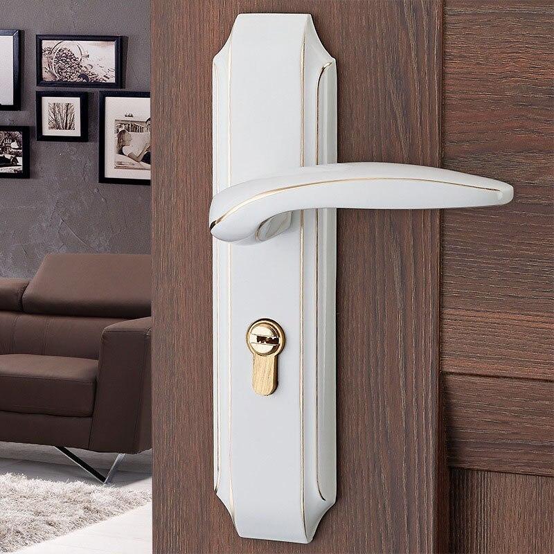 Vintage Metal Door Panel Lock Handle Room Door Latch Bolt Home Security Lock цена 2017