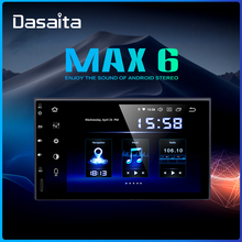 Dasaita 7 Radio Car 2din DSP android 9.0 Universal Multimedia Player 4GB RAM 64GB ROM HDMI