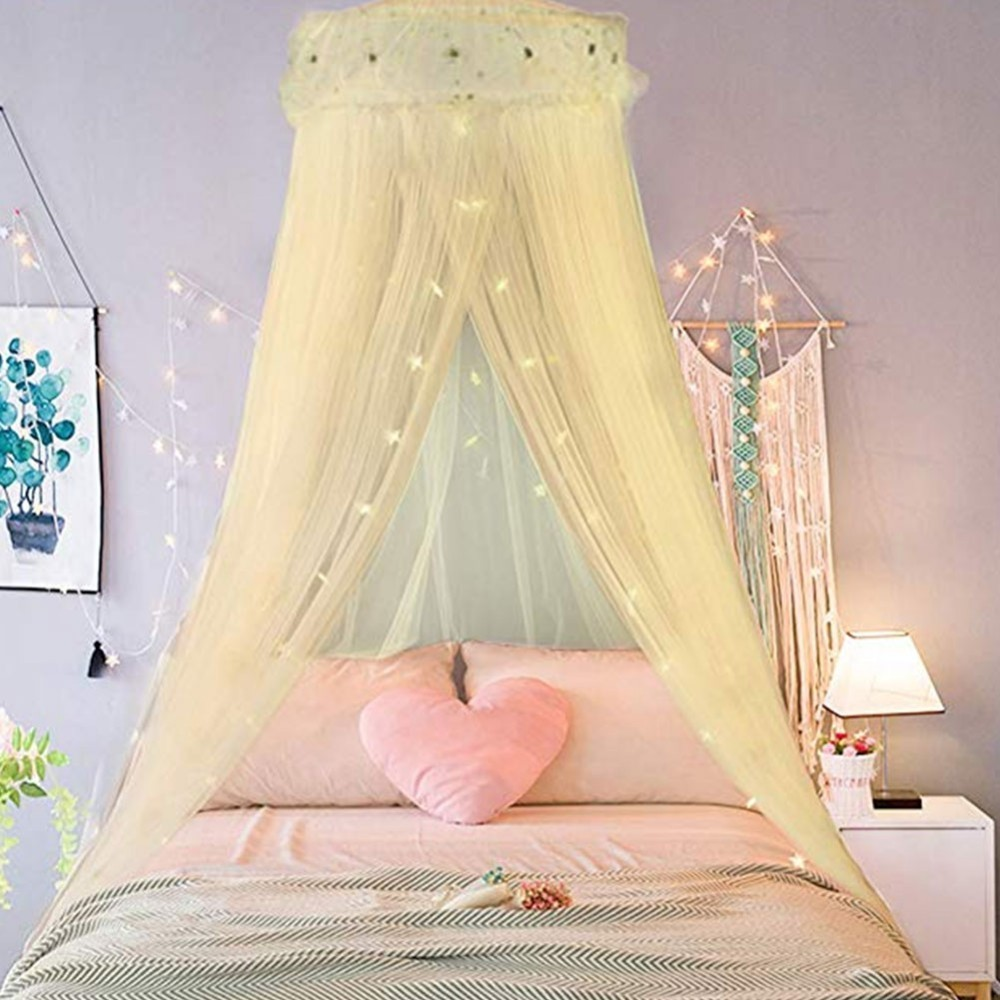 Children Babies Circular Palace Mosquito Net Kids 39 Room Decoration Summer Curtain For Baby Kids Sleeping Playing 5 Colors in Mosquito Net from Home amp Garden