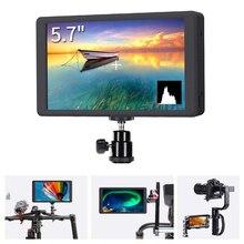 5,7 «ips ЖК-экран монитор 4 K HDMI дисплей DSLR на поле камеры видео помощь 1920×1200 для sony Canon Nikon, Panasonic Zhiyun