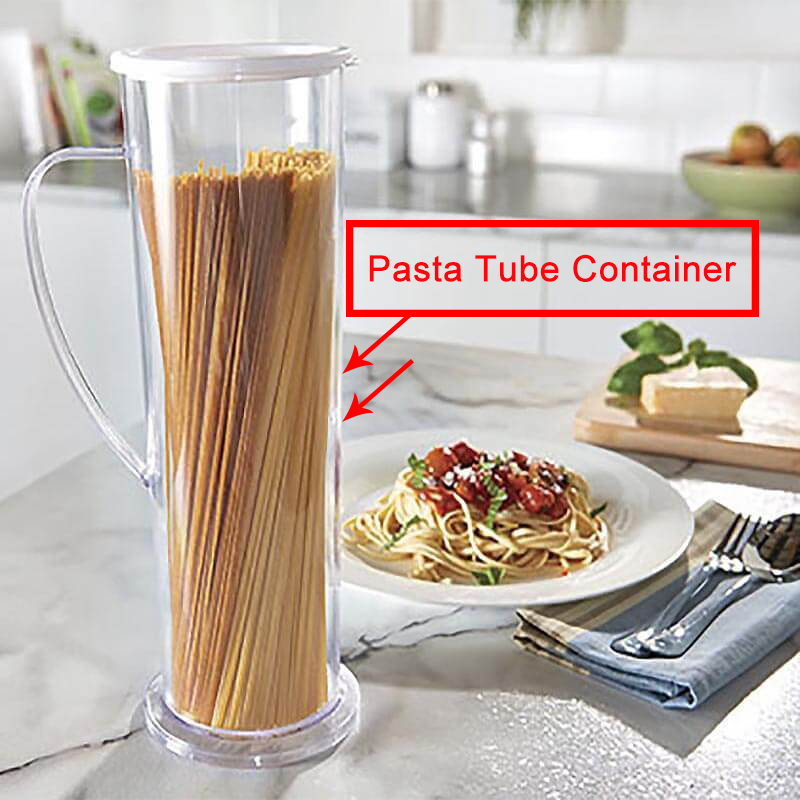 Drop Shopping!!! Pasta Kitchen Express Cooks Spaghetti Pasta Maker Cook Tube Container Fast Easy Cook Kitchen Tools 5 image