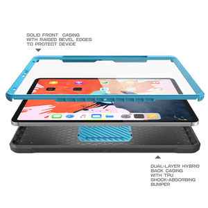 Image 5 - Capa para lápis da apple compatível, capa para ipad pro 11 suporte de corpo inteiro ub capa robusta com construção no protetor de tela & kickstand