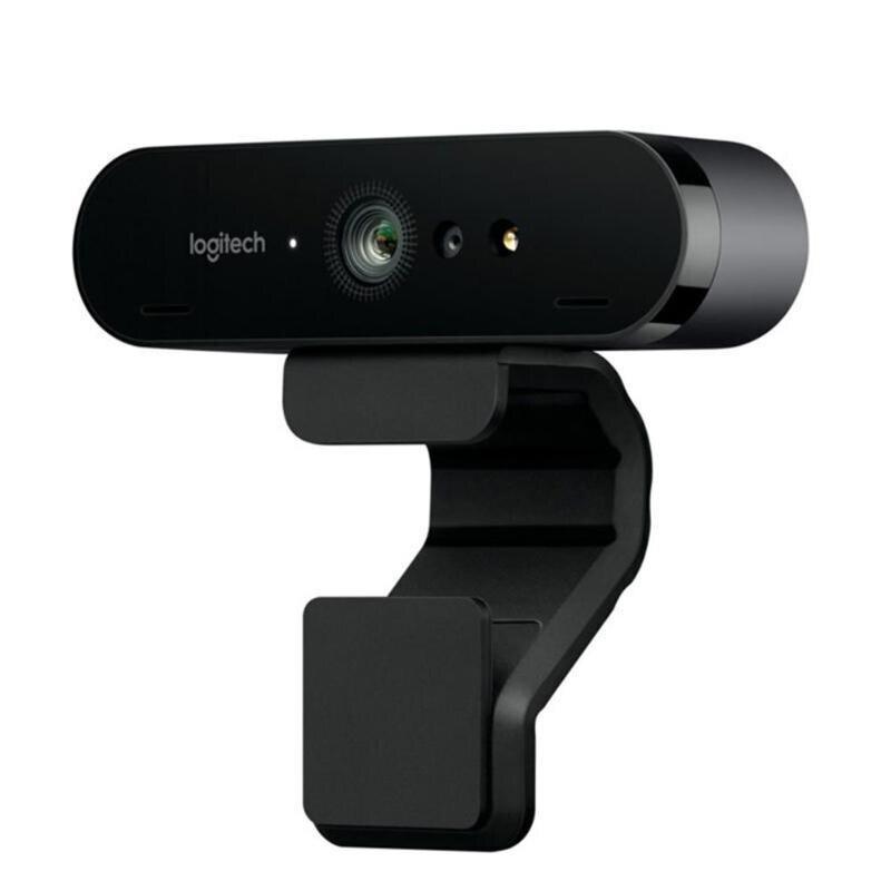 Logitech BRIO C1000e 4 K Webcam HD Grande Angular Ultra HD 1080 p de Vídeo Streaming de Gravação Da Câmera para Vídeo Conferência fone de ouvido com Microfone