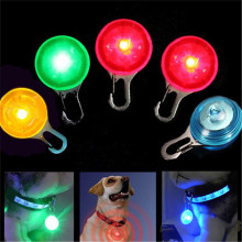 LED Dog Collar Lights Necklace Night Bright Lamp Cat Pendant Luminous Glowing Flash Pet Accessories