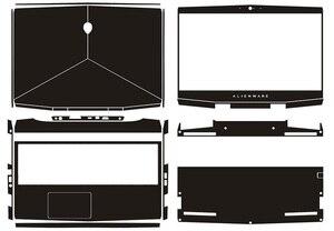 Purchase Laptop Carbon Fiber Vinyl Skin Sticker Cover For 2018-2019 Release New Alienware M15 15.6
