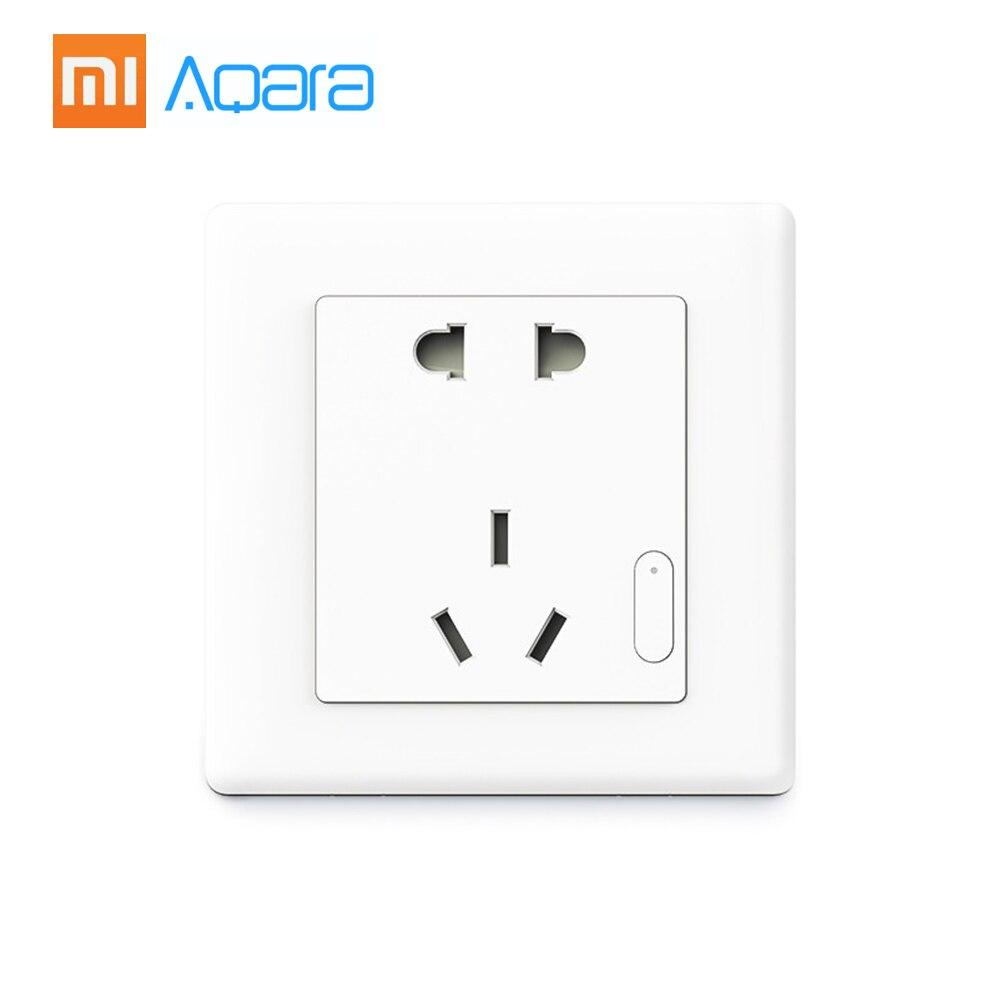 Original Xiaomi Aqara Smart Wall Socket Wall Outlet Zigbee
