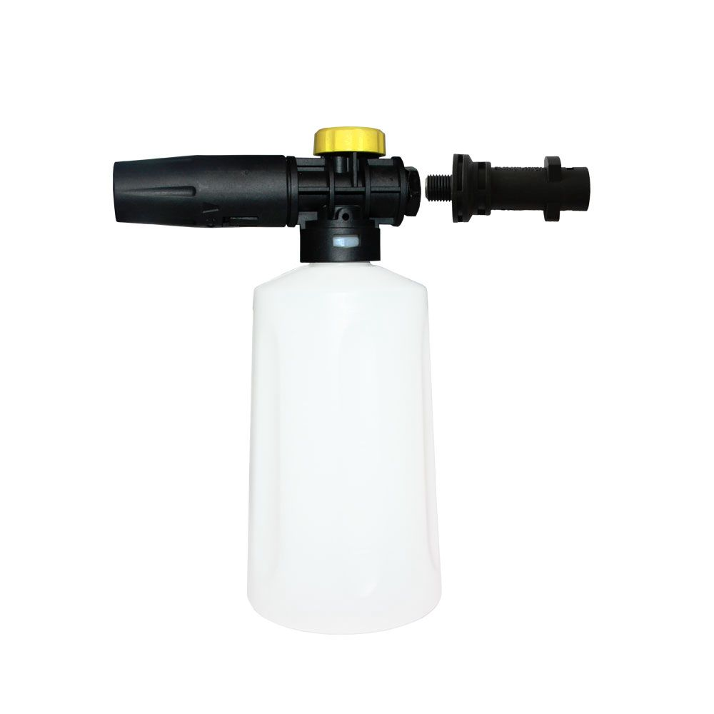 Wsfs Hot Snow Foam Lance For Karcher K2 K7 High Pressure Foam Gun Cannon All Plastic Portable Foamer Nozzle Car Washer Soap