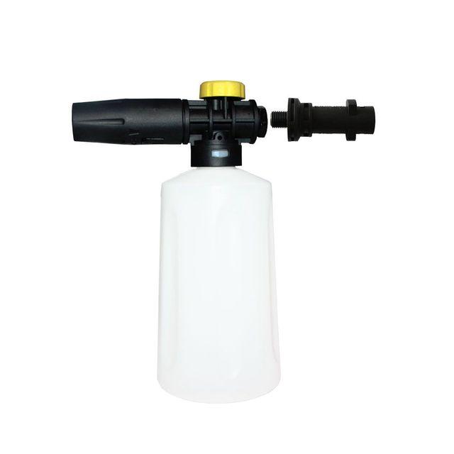 WSFS Lance de mousse de neige chaude pour Karcher K2   K7 canon à mousse haute pression canon tout en plastique Portable mousse buse voiture laveuse savon