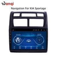 Горячая продажа 9 дюймов Android 8,1 автомобильный Dvd Gps плеер для KIA Sportage 2007-2013 Встроенный радио Видео Навигация Bt Wifi
