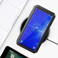 Armor Metal Case Shockproof Cover For Samsung S8 S8Plus S9 S9Plus Note8 Note9