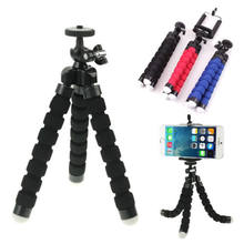 Mini Octopus Tripod Stand Holder for Mobile Phone with Phone Clip Mount for Xiaomi 8 iphone X 7 Huawei GoPro Action Camera(China)