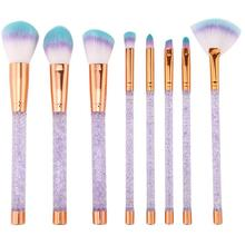Makeup Brushes 8Pcs/Set Blusher Foundation Powder Brush Cosmetic Tool pincel maquiagem цена в Москве и Питере