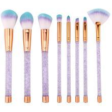 Makeup Brushes 8Pcs/Set Blusher Foundation Powder Brush Cosmetic Tool pincel maquiagem цены онлайн