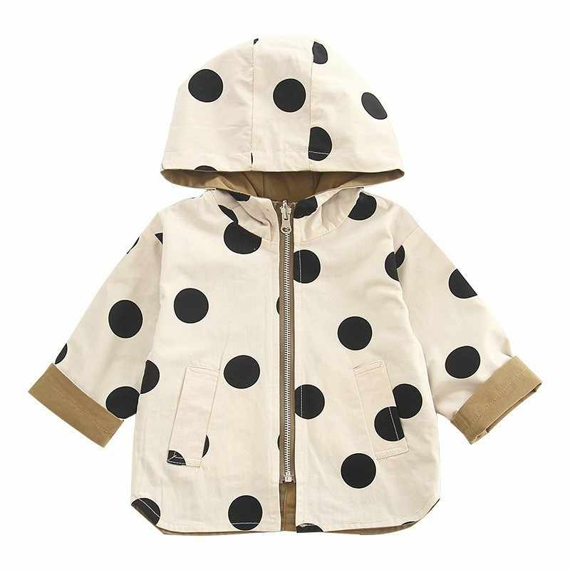 Baby Kids Jacket Coat Toddler Wear On Both Side Windbreak Fall Children Trench Coat Outerwear Baby Boys Girls Clothes