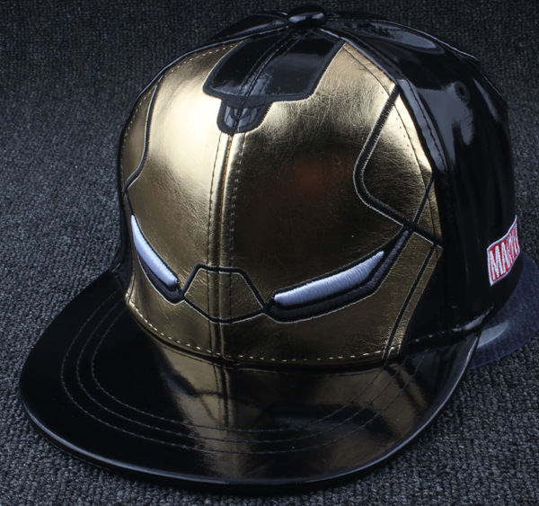 New Product   Baseball     cap   kids iron Man Cortex Chivalrous Hats Cortex Children Hip Hop Hat Male Ma'am Flat Edge   Baseball   Hat