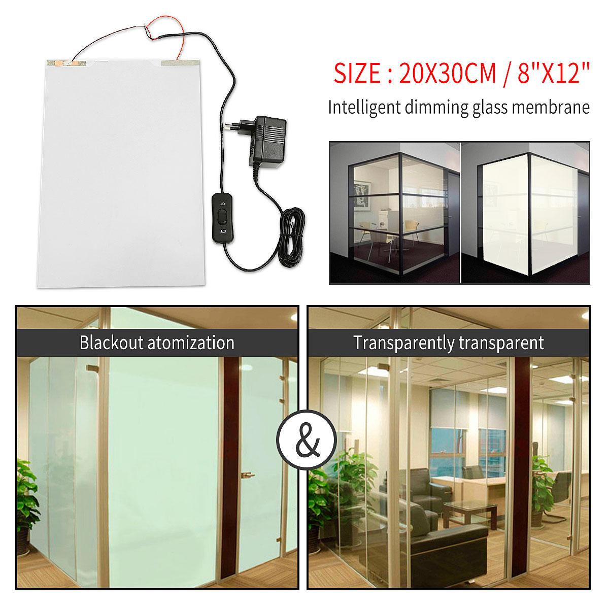 White PDLC Smart Film Switchable Glass Film Electrochromism Vinyl Film Privacy