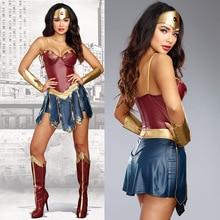 Halloween Party Movie Justice League Wonder Women Fantasia Fancy Dress Superhero Superwomen Costume S-3XL s thalberg fantasia on bellini s la straniera op 9