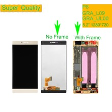 купить 10Pcs/lot P8 5.2 Inch Lcd + Frame For Huawei P8 GRA_L09 GRA_UL00 GRA-L09 GRA-UL00 Lcd Screen Display Touch Digitizer Assembly по цене 9899.94 рублей