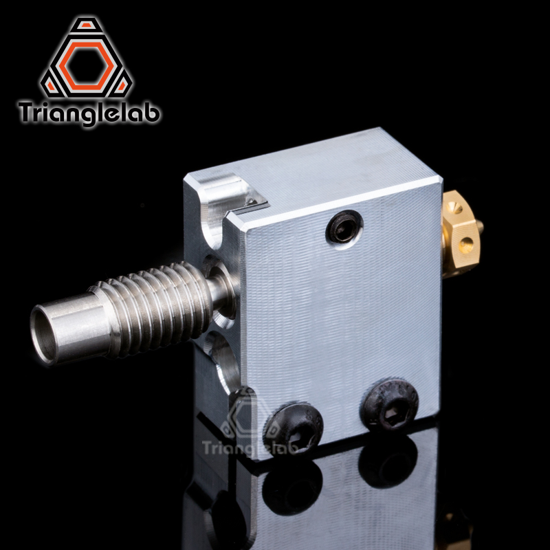 cheapest Trianglelab 3D Printer Volcano Heater Block   High quality Nozzle   heat breaker for 3D printer For E3D Hotend DIY 3D Printer