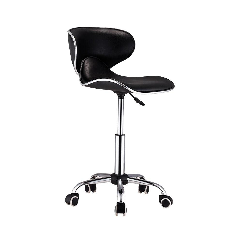Astounding Adjustable Barber Chairs Hydraulic Rolling Swivel Stool Short Links Chair Design For Home Short Linksinfo