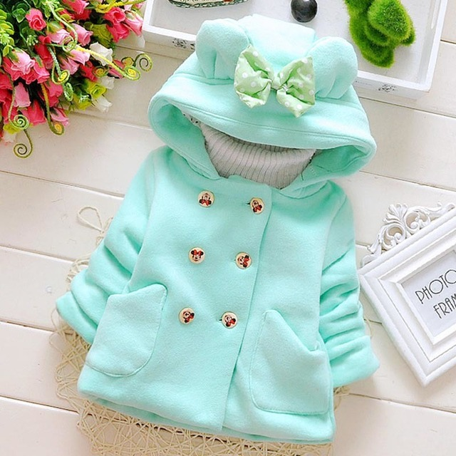 New 2018 Baby Costume Winter 0-3Years Girl's Multicolour Autumn Sweater Newborn Clothes Long-sleeved Jacket Children's Clothing.