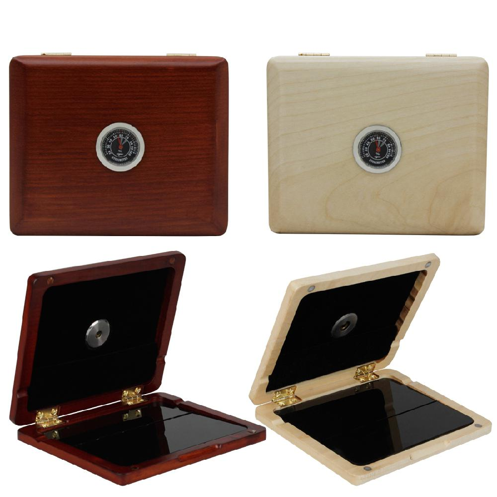 SLADE Saxophone Sax Clarinet Professional Wooden Oboe Reed Box 5 Reeds Accommodate With Hygrometer For Reed Storage Protection