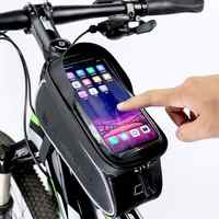 WHEEL UP Touch Screen Front Top Tube Bicycle Bags Rainproof MTB Road Cycling Bags 6.0 Inch bike Cell Phone Cases Hot Selling