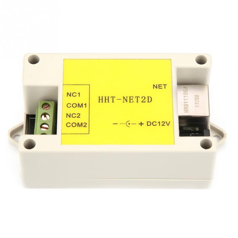 Nuovo DC12V 2 Canali Ethernet IP Modulo di Relè di Rete Internet di Cane Da Guardia