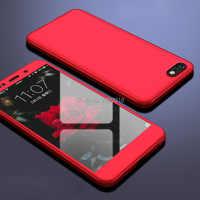 Boîtier antichoc 360 degrés pour sur Honor 7a housse complète pour Huawei Honor 7A 7 A DUA-L22 5.45 pouces étui russe avec verre trempé