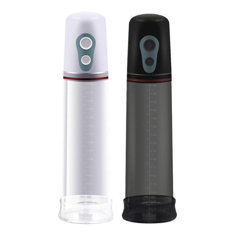Electric Peni-s Enlargement Pumps Male Penile Erection Training Vibrator Cock Dick Pro Extender Vacuum Pump Assisting Device