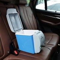 Car refrigerator freezer warmer multi function home travel car refrigerator 12V 7.5L portable