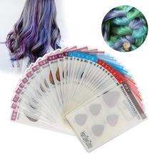 Краска для волос 30 шт краска для волос Цвет плиты полупостоянных волос Цвет