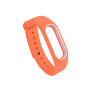 Image 3 - 21 kolory moda bransoletki dla Xiaomi Mi Band 2 Sport pasek zegarka silikonowy pasek na rękę dla Xiaomi MiBand2 bransoletka pasek na rękę