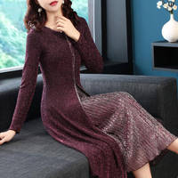 Women Jumper O Neck Long Sleeve Sweater Clothes Tops Female Solid Color Stitching Sexy Streetwear Knitted Casual Pullovers Dress