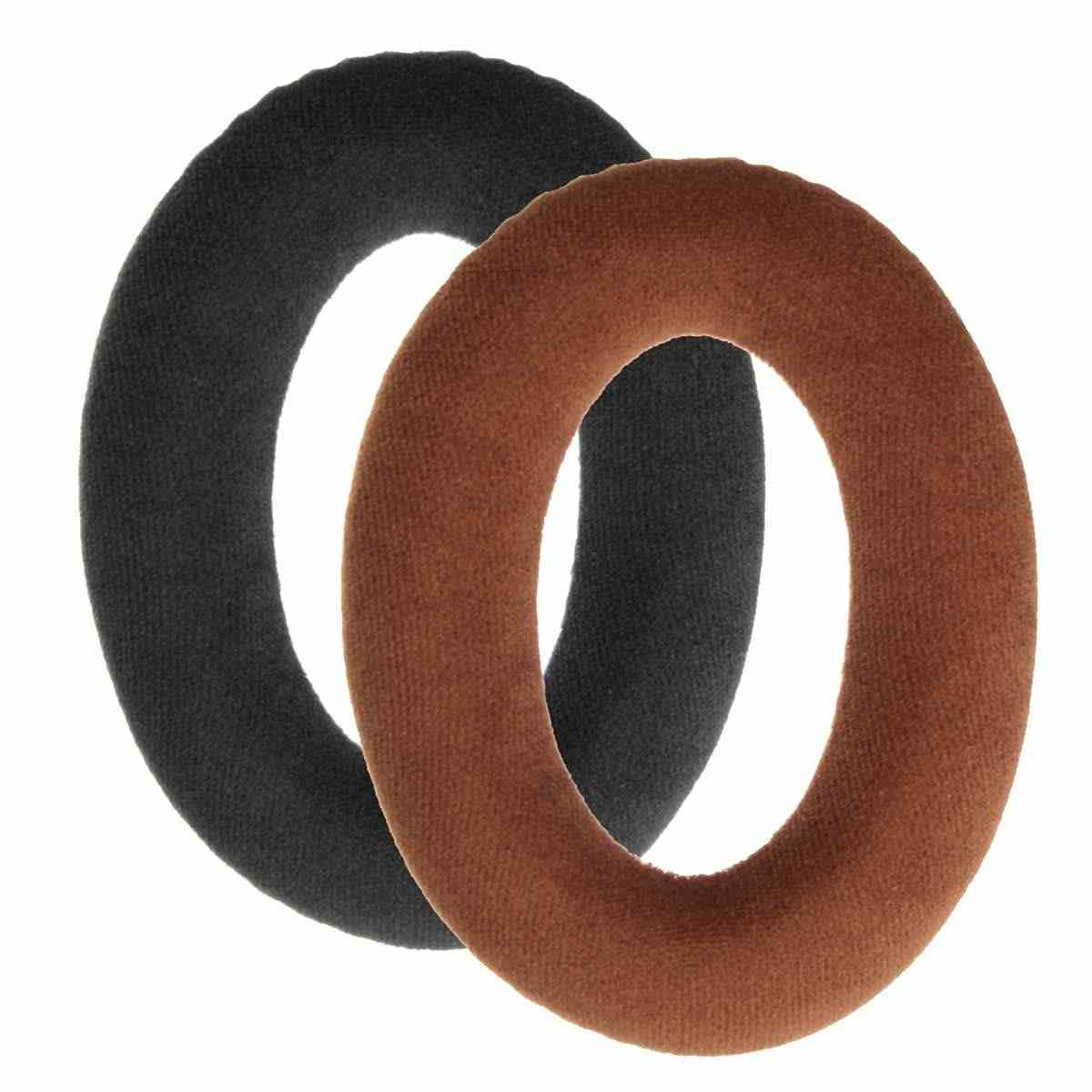 1 Pair Replacement Headphone Earpads for Sennheiser HD598 HD558 HD515 HD598 Cs HD518 HD555 HD595 Headphones Ear Pads Black Brown