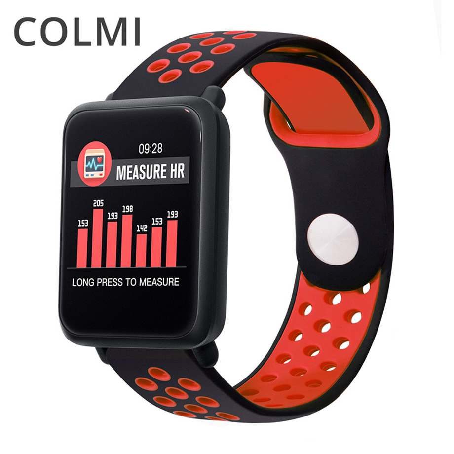 COLMI M28 Smart Watch Men IP68 Waterproof Swimming Heart Rate Monitor Fitness Tracker Women Smartwatch For Android IOS Phone