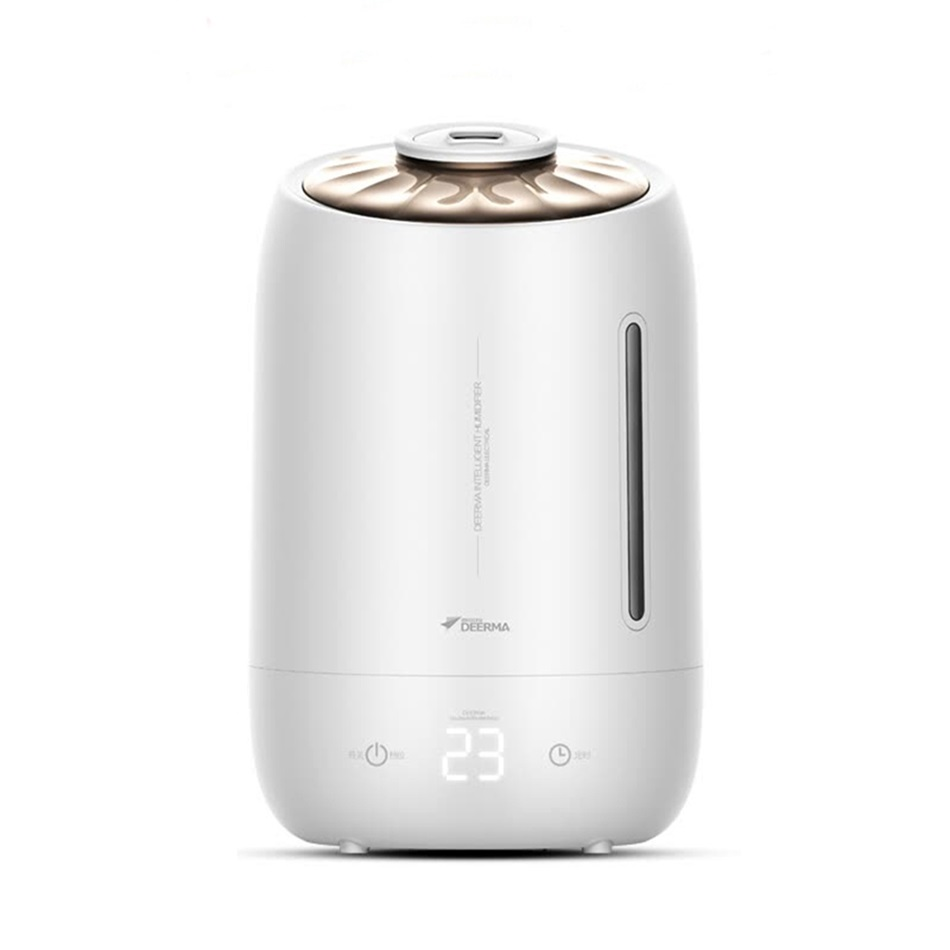 Xiaomi Youpin Original Deerma 5L Large Capacity Ultrasonic Humidifier Touch Screen 12 Hours Timing Aromatherapy Essential oil