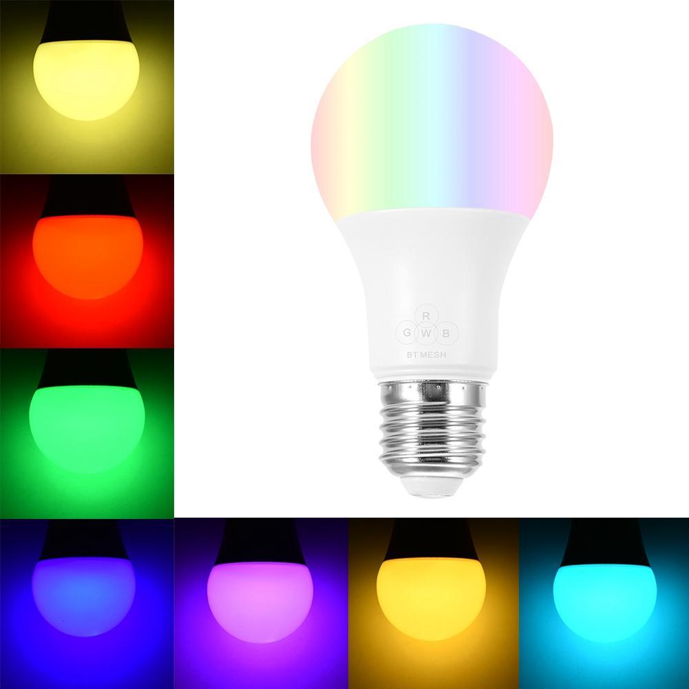 Led Bulbs & Tubes Diligent Wireless Bulb E27 4.5w Rgb Led Bluetooth Wireless Mesh Ball Bulb Lamp Smart Light Led Lampen Lights & Lighting