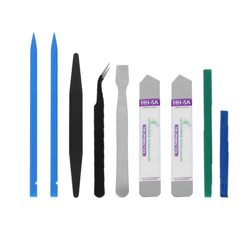 8 in 1 Mobile Phone Repairing Tool Kit Spudger Pry Opening Tool LCD Repair Tools for Laptop Smartphone Tool Parts