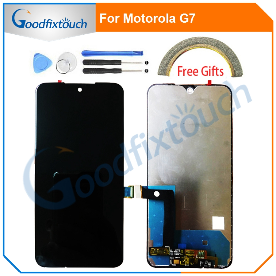 "6.2"" LCD Screen For Motorola G7 LCD Display Touch Panel Screen Digitizer Assembly For Motorola MOTO G7 Repair Parts"