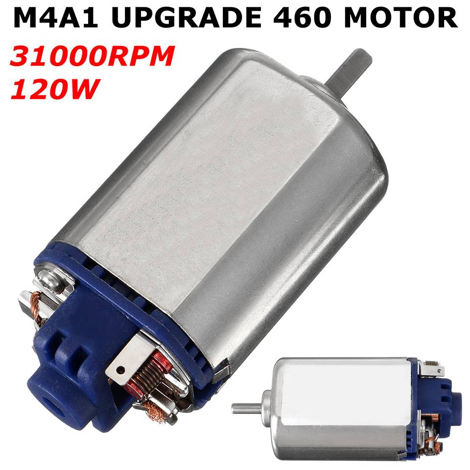 11.1V 0.06A 31000RPM M4A1 Upgrade Gen8 Rare Earth 460 Motor energy Motor DIY Metal of metal gear