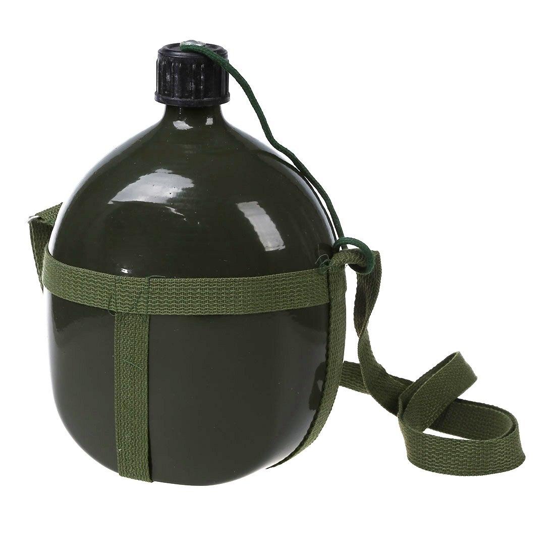 Пеший Туризм емкость 2,5 л военный столовый чайник армейский зеленый с плечевым ремнем
