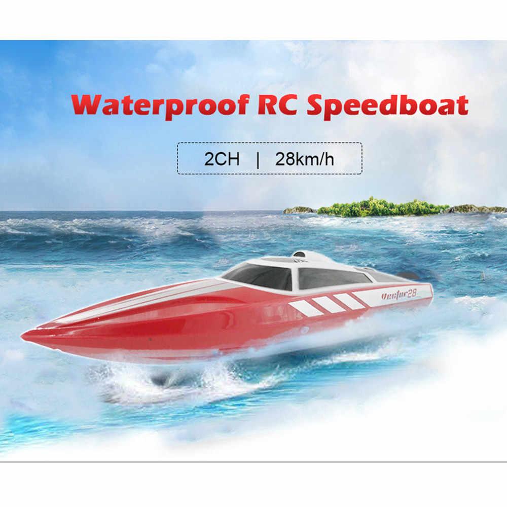 VOLANTEXRC Водонепроницаемая лодка RC 28 км/ч летняя игрушка для воды 180 матовый мотор 2 в 1 ESC 9g сервопривод пульт дистанционного управления RC лодки игрушки подарки