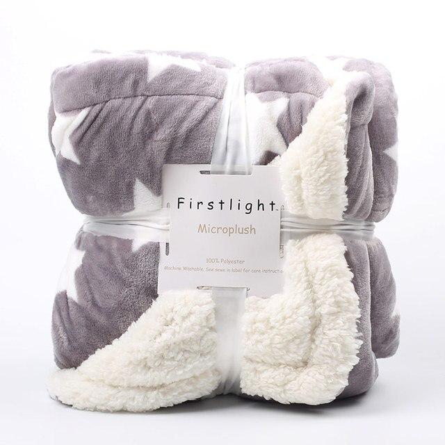 Winter Fleece Printed Blanket 1