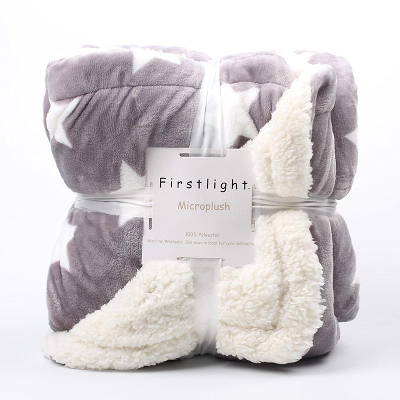 Cobertor de lã de flanela ponderada inverno adulto macio grosso sherpa lance cobertor para sofá cama