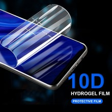 HD Full Cover Soft Screen Protector For Huawei Honor 8A 8C 8X 10 P Smart Y6 Y9 2019 P30 P20 Pro Lite 10D Hydrogel Film Not Glas