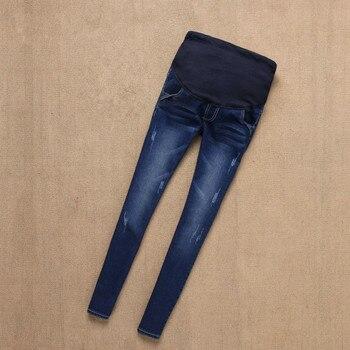 28e1cc179 Vaqueros de maternidad pantalones para las mujeres embarazadas enfermería  Jeans del vientre Legging ajustados ropa para el embarazo Pantalones de  Embarazada