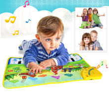 Baby Music Mat Children Crawling Piano Carpet Educational Musical Toy Kids Gift YJS Dropship 110x36cm musical mat keyboard music carpets piano play mat touch keys melody instrument educational toy gift for boys
