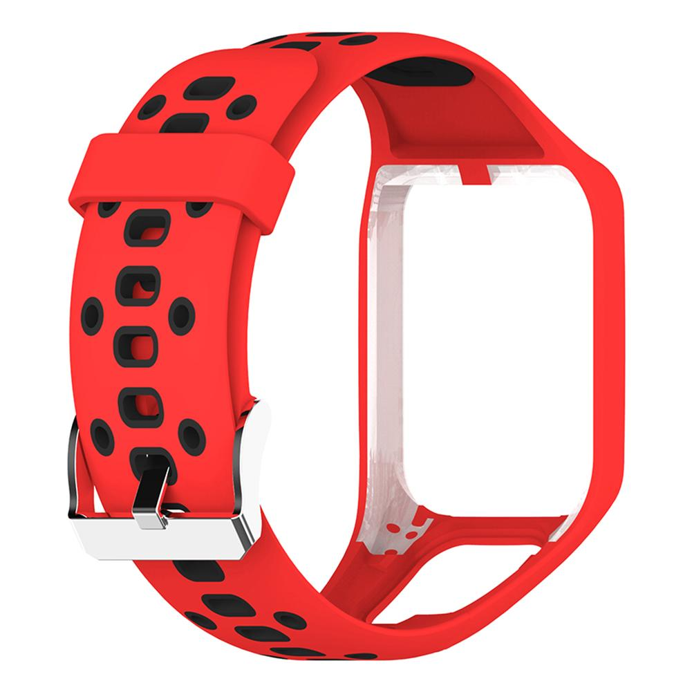 Image 5 - Silicone Replacement Watchband Wrist Band Strap For TomTom 2 3 Runner 2 3 Spark 3 GPS Watch Strap Porous Design Comfortable-in Smart Accessories from Consumer Electronics